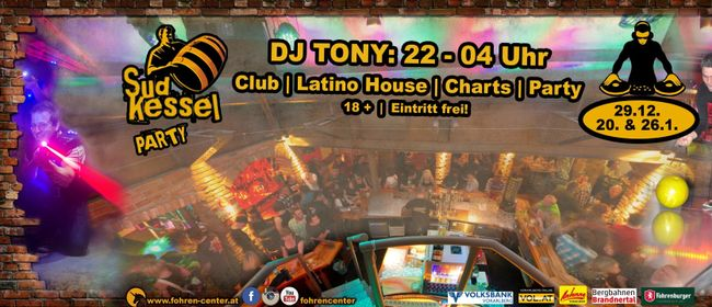 Kessel Party mit DJ Tony at Fohren Center
