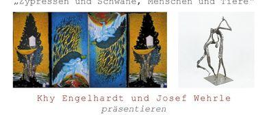 Galerie Sandpeck Wien 8 - Khy Engelhardt und Josef Wehrle