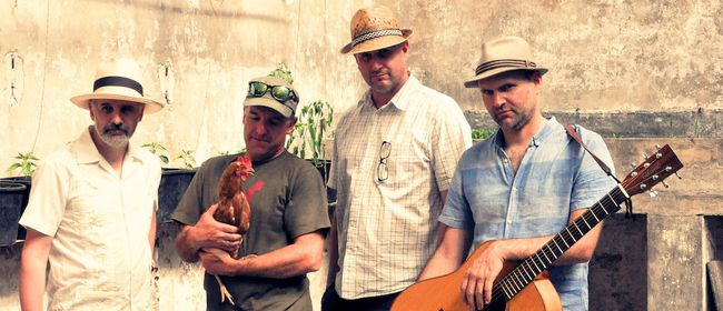 Gallo Pinto ... spielt lateinamerikanische Musik