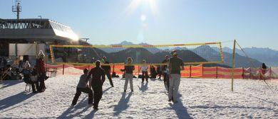 Snowvolleyball-4Länder-Turnier