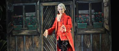 Marionettentheater feiert 262. Geburtstag von Mozart