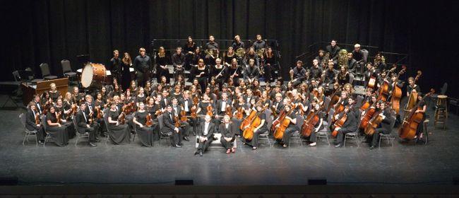 Churchill High School Orchestra - Konzert