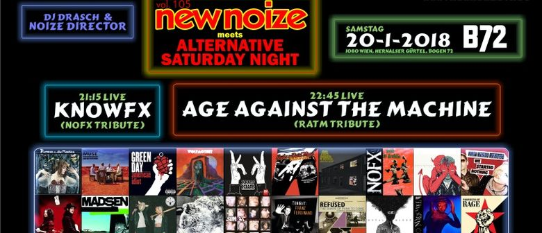 New Noize vol. 105 ft. Knowfx + Age Against The Machine