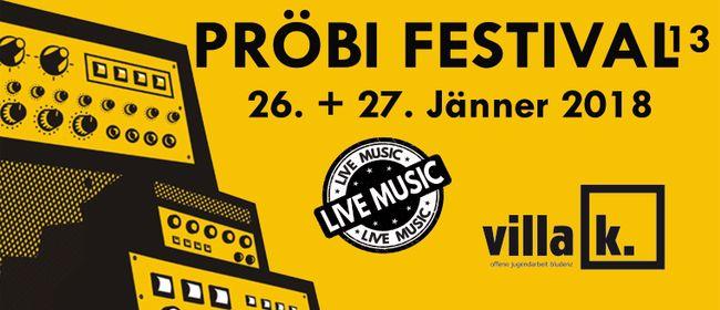 Pröbi Festival Vol. 13