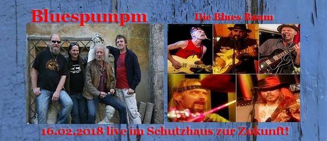 Schutzhaus in Blues