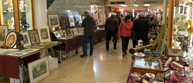 Zeitreise Antikmarkt Ringstrassen-Galerien