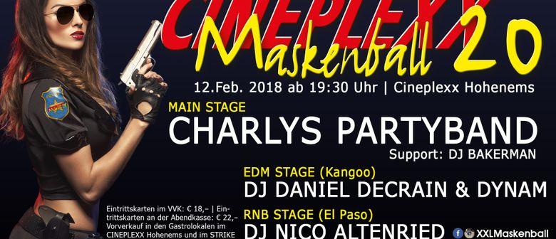 XXL Cineplexx Maskenball 20 am Rosenmontag