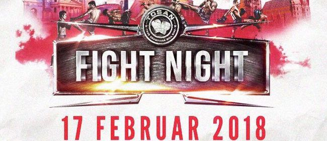 TOSAN Fight Night – Tag der Abrechnung
