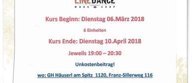 Line-Dance Kurs für Beginner&Fortgeschrittene