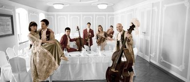 Advent: Mozart Dinner Concert im Barocksaal von St. Peter