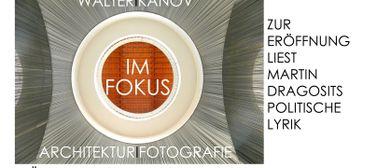Walter KANOV - Fotokunst IM FOKUS