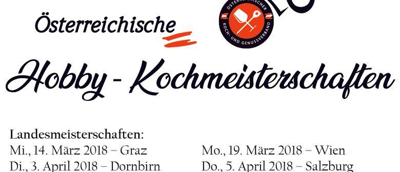 1. Österreichische Koch Landesmeisterschaften