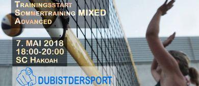 Beachvolleyball Training Mixed Advanced by DUBISTDERSPORT
