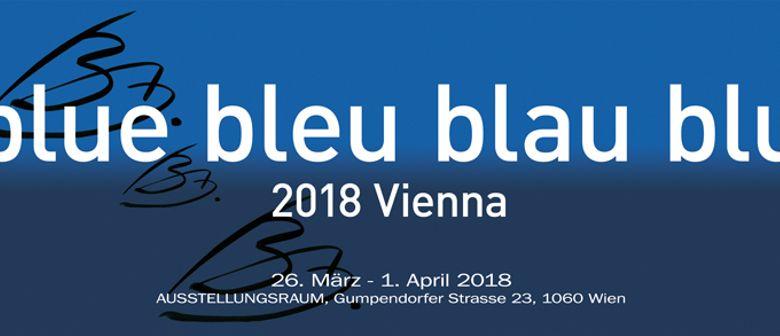 Blue bleu blau blu 2018 Vienna