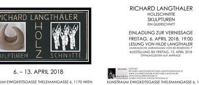 Richard LANGTHALER Holzschnitte, Skulpturen. Ein Querschnitt