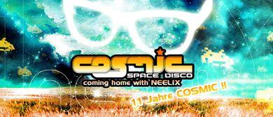 COSMIC Space Disco mit NEELIX live