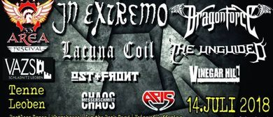 Area53 Festival: IN EXTREMO, DRAGONFORCE, LACUNA COIL u.v.m.