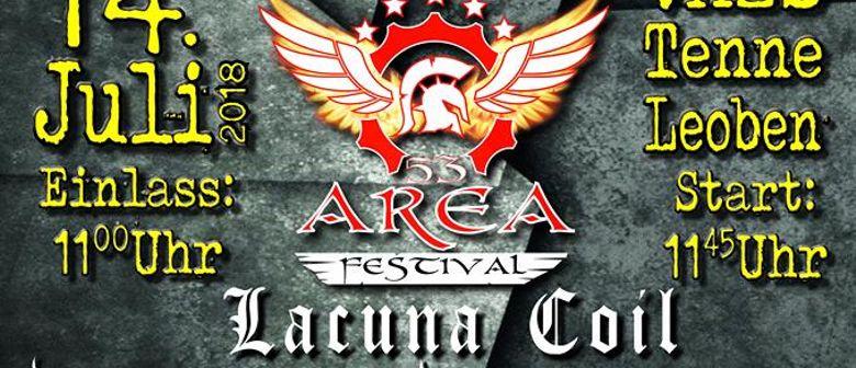 Area53 Festival: IN EXTREMO, DRAGONFORCE, LACUNA COIL u.v.m.