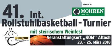 Das 41. Mohren-Rollstuhlbasketball-Turnier in Altach