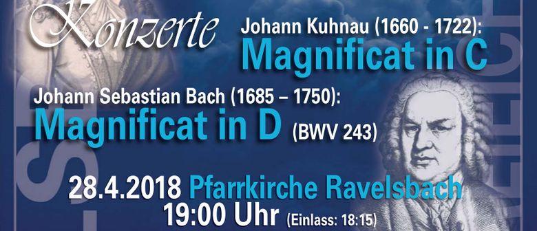Magnificat in C und D