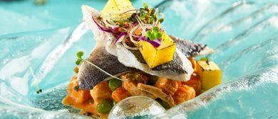 Frühlingsgenüsse im Fischrestaurant Kaj