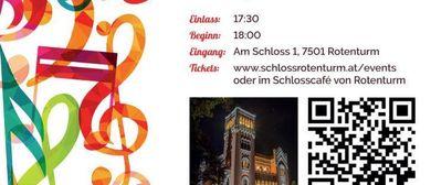 Konzertreihe 2018 Junge Talente in Schloss Rotenturm