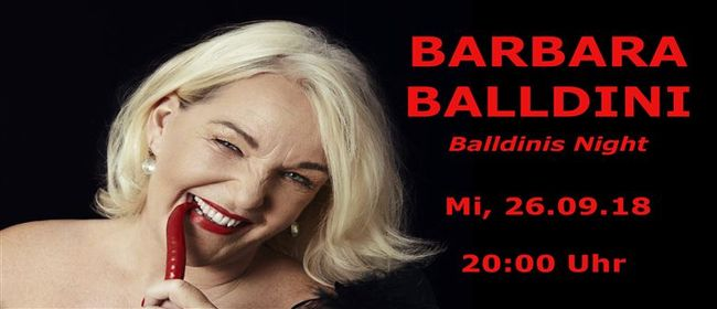 Barbara Balldini - Balldinis Night