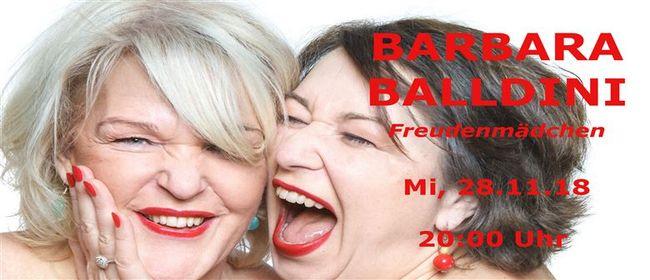Barbara Balldini und Mika Blauensteiner - Freudenmädchen