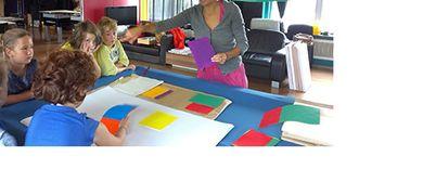 Kinder Künstler Kurse: Landschaft und Wolkenbilder