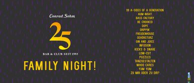 25 JAHRE SOHM / FAMILY NIGHT