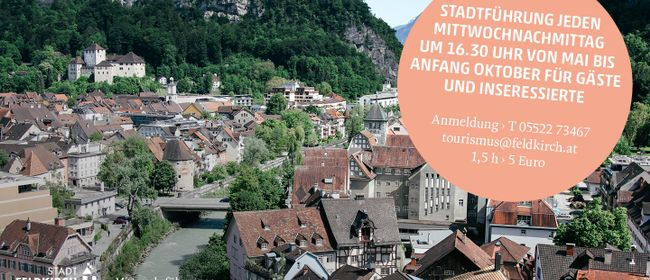Mittwochsführung Feldkirch