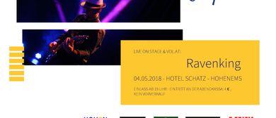 """Live Inspiration"" Bühne: Ravenking (Blues)"