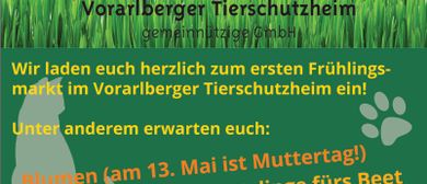 Frühlingsmarkt im Vorarlberger Tierschutzheim