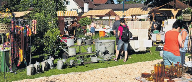 Kunsthandwerk & Gartenmarkt
