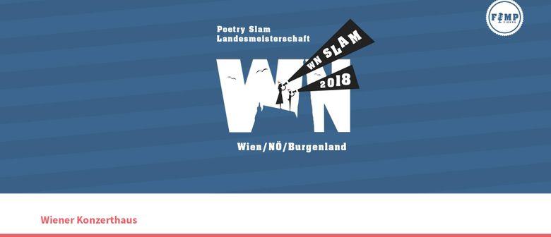 WN SLAM 2018: Poetry Slam Landesmeisterschaft Wien/NÖ/Burgen