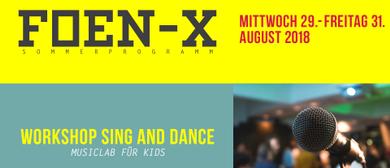 Kinderworkshop Sing and Dance