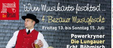 4.Bezauer Musigfest 2018