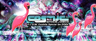 COSMIC Pool Party - FLOW Festival Special mit Avalon