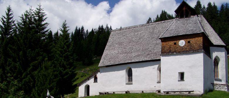 Bergmesse in der St. Agatha Kapelle am Kristberg