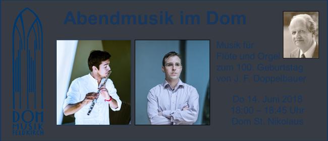 Abendmusik im Dom | Musik für Flöte und Orgel