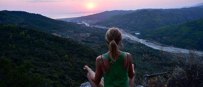 Yoga Urlaub in Griechenland - Yin Yoga, Fluss & Stille