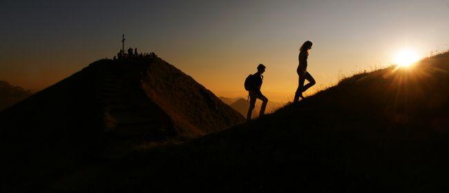 Sonnenuntergangsfahrt zum Diedamskopf