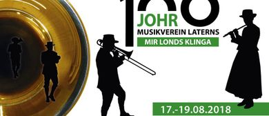 100 Johr Musikverein Laterns