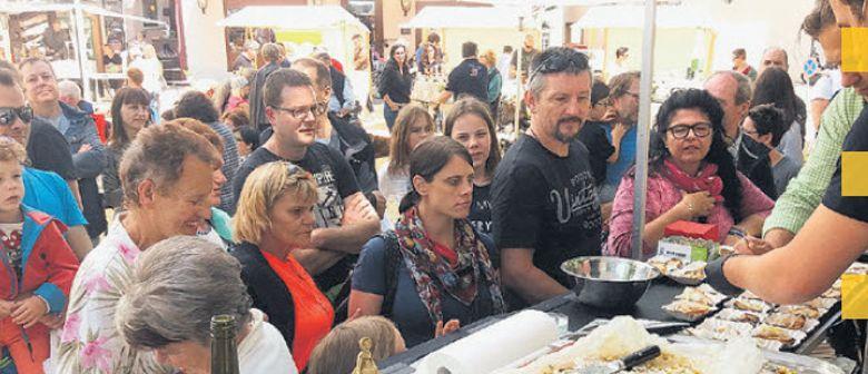 Ma trifft sich zu BBQ u. Sommerfeelings im Jüdischen Viertel