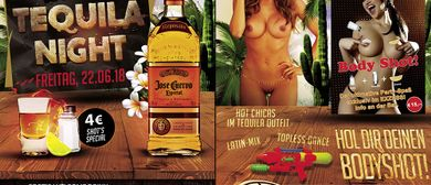 Tequila Night im EXZESS! Gentlemen-Club Vienna