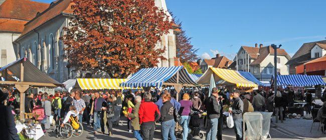 Herbstmarkt mit Rundenlauf