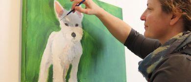 KinderKünstlerKurse: Malen mit Fototransfer