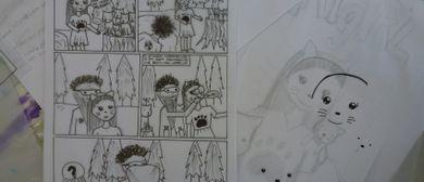 KinderKünstlerKurse: Comic-Zeichnen