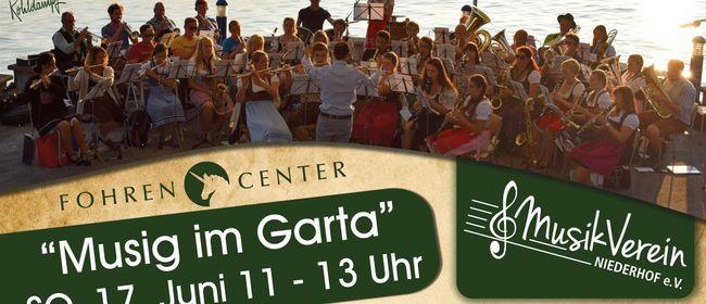 Musig im Garta - Musikverein Niederhof im Fohren Center