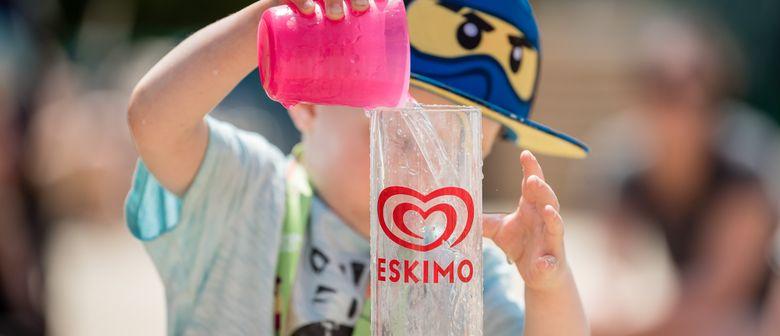 Die ESKIMO Spaß-Tour kommt in das Bad Seekirchen!